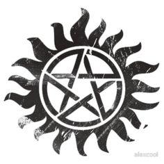 Winchester logo dark (supernatural) by alexcool