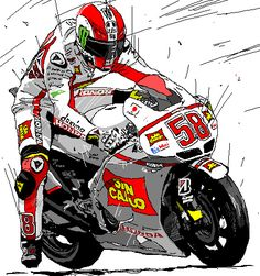 2011 HONDA RC212V #58 Marco Simoncelli | ~Motorcycle racers~… | Flickr