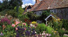 English cottage gardens...