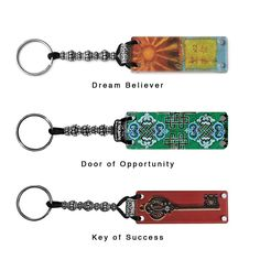 The Fortune Keeper: clear, magnetic back keeps fortune cookie messages to reflect on them later.    
