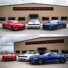 HPE750 Camaro + HPE850 Hellcat + HPE800 Mustang