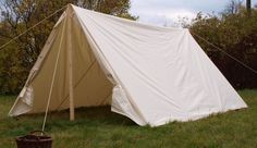 Large soldiers tent