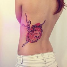 Dancer tattoo