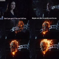 Just when you think Ghost Rider couldn't get any cooler - they throw in Coulson!