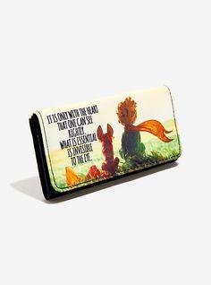 Loungefly The Little Prince Fox Secret Flap Wallet,