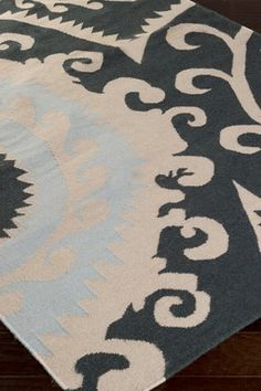 Contemporary traditional style rug