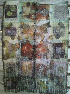 patchwork+silk+collage by Michelle Hoffee - I enjoyed more of her images by clicking through to flickr. S