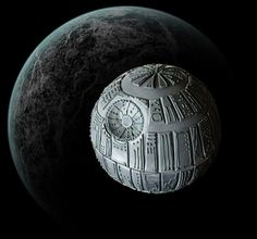 How to Make a Death Star Cake