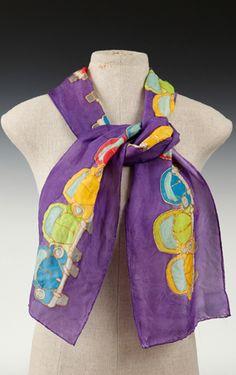 Cecilia Ridge - Volkswagon scarf