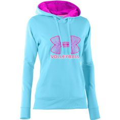 Under Armour Fleece Big Logo Hoodie - Turquoise loveee this!!