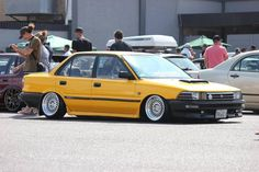 Republic of the Corolla Twincam, Toyota Corolla, Japan Cars, Trd, Car Wheels, Jdm Cars, Custom Cars, Tractor, Cars And Motorcycles