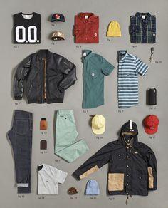 knolling clothing - Recherche Google