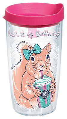 Tervis Tumbler Simply Southern Suck It Up Buttercup Insulated Wrap with Lid