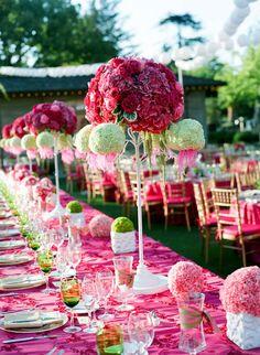 Uma festa requintada no Palacio da rainha de copas que trocou o vermelho pelo Rosa !!!