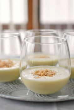 Coconut eggnog from Simply Scratch