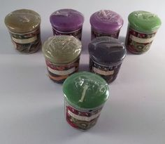 Yankee Candle Votive~Samplers Lot Of 7 Great Scents For The House Free Shipping #YankeeCandle