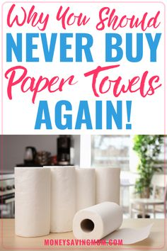 If you have a grocery list on a budget, here is one item you can take off of your list - paper towels! You may consider them a necessity, but read how we stopped buying them and how we live without them with reusuable paper towels. #grocerylistonabudget #resusablepapertowels