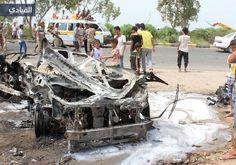 محافظ عدن ينجو من الاغتيال بسيارة مفخخة