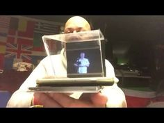 (2) D.I.Y. PUX GLASS 3D Illusion HOLOGRAM BOX UPDATED FOR SMARTPHONES - 2016 - YouTube