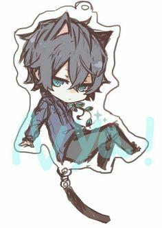 Chibi Kawaii, Gato Anime, Cute Anime Chibi, Anime Neko, Cute Anime Boy, Kawaii Anime, Anime Guys, Neko Boy, Chibi Boy