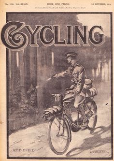 MILITARY BICYCLES IN WORLD WAR ONE During the Boer War the practical value of the cyclist corps did not rise to expectation, and Sir Redvers Buller raised all the hornets of the Cycle Press about ...