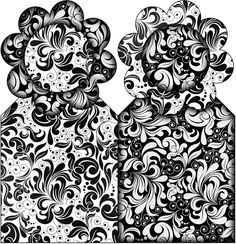 Printable Box, Printables, Snow White, Black And White, White Damask, Maleficent, Crafts, 112, Thalia