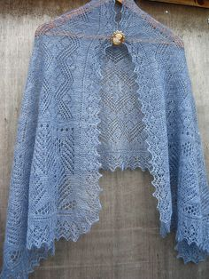 Ravelry: Knitted Scarves - A Lacy Pattern pattern by Sharon Miller