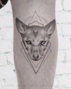 Adam Lambert       A tribute to Pharaoh on my calf--- tattoo by the BRILLIANT @dasleitbild . Thank you Daniel!