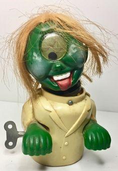 1960's Rare Durham Googly Eye Cyclops Weird Ohs Nutty Mads like Monster Wind Up | eBay