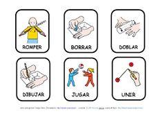 Resultado de imagen de pictogramas acciones español