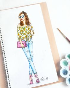 7,982 Followers, 134 Following, 286 Posts - See Instagram photos and videos from Dipti Patel (@dipti.illustration) Dress Design Drawing, Dress Design Sketches, Fashion Design Sketchbook, Dress Drawing, Fashion Design Drawings, Fashion Sketches, Fashion Drawing Dresses, Fashion Illustration Dresses, Fashion Figures