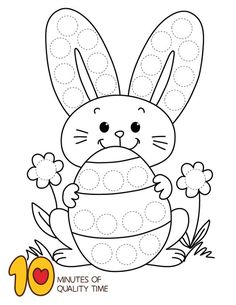 Luxurious Easter Do a Dot Exercise Incredible Easter Do a Dot ExerciseYou can find Exercise and more on our website.Luxurious Easter Do a Dot Exercise Incredible Easter Do a Dot Exercise Easter Activities For Toddlers, Easter Crafts For Kids, Preschool Activities, Illustration Tutorial, Easter Worksheets, Easter Printables, Do A Dot, Diy Ostern, Easter Colouring