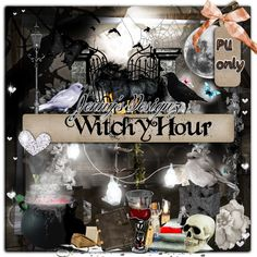 Jenny's Designz: FTU Kit: Witchy Hour