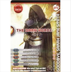 Doctor Who Monster Invasion Extreme 272 The Dark HordeCommon