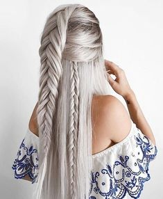 How To Make Celtic Plaits For Your Hair 43