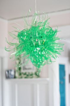 I need a new light in my dining room. I'm on the hunt for an old fasioned chandelier (to pair against Mrs. Snow), so in the meantime, I'm gettin' funky. When I gave up Diet Coke earlier this summer, the gradual phase out included a few weeks lemon-lime soda consumption. It's not much better for …