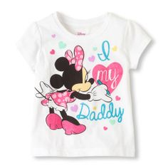 Minnie daddy graphic tee