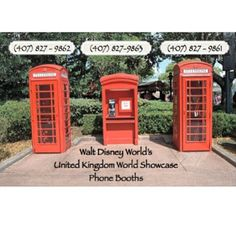 Call these numbers and be able to talk to real guests at Disneyworld Epcot! I must do this!