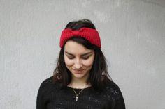 DIY - Tricoter son bandeau en laine // http://www.lebazardalison.com/2014/01/diy-le-bandeau-en-laine.html