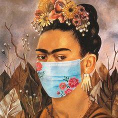 Frida Kahlo Cartoon, Arte Do Hip Hop, Nurse Art, Frida Art, Monalisa, Paint Photography, Shirt Print Design, Masks Art, Fractal Art