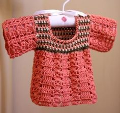 (4) Name: 'Crocheting : Multi Coloured Top