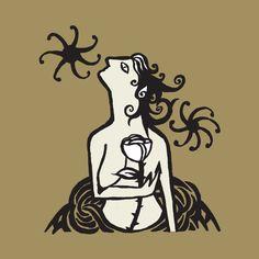 mulher com flor - rogerio fernandes