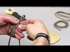How to Wrap a Handle with Paracord