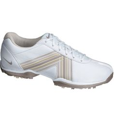 Nike Women's Delight Golf Shoe - White/Muave at Golf Galaxy