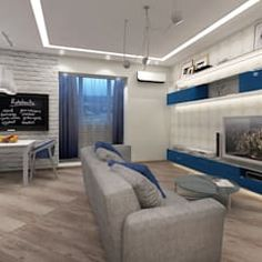 Hugo y eva salones de estilo minimalista de osb arquitectos minimalista | homify Flat Screen, Minimalist Style, Design Ideas, Lounges, Architects, Interior Design, Crystal, Kitchens, Pictures