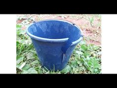 best diy to recycle broken plastic bucket/ diy craft/ ideas/zaha diy Plastic Buckets, Recycling, Craft Ideas, Diy Crafts, Make It Yourself, Youtube, Buckets, Manualidades, Creative Crafts