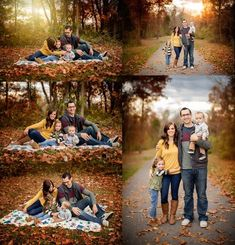 Fall Family Photo Ideas - Cute ideas for outdoor family pictures in the autumn Fall Family Portraits, Family Portrait Poses, Fall Family Pictures, Family Picture Poses, Family Photo Sessions, Family Posing, Fall Photos, Family Photoshoot Ideas, Outdoor Family Photos