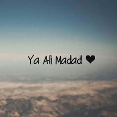 Ya Ali Madad ❤