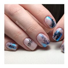 Nail Art Transfer Foil 2019 is one of the best techniques for beginners.use nail art foils and get wonderful manicure at home that looks professional. Foil Nail Art, Foil Nails, Foil Art, Short Gel Nails, Transfer Foil, Nails 2018, Nail Games, Beautiful Nail Designs, Blue Nails