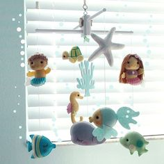 Hey, I found this really awesome Etsy listing at https://www.etsy.com/listing/208854210/musical-baby-mobile-mermaid-girl-and